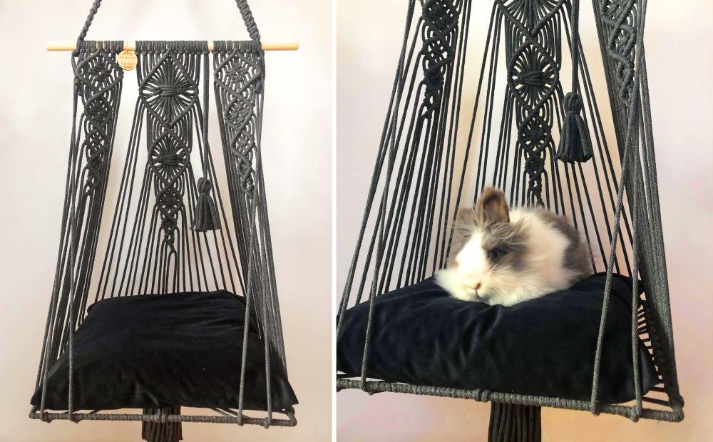 fotel ze sznurka