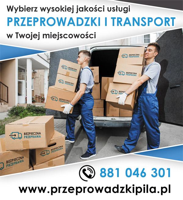 Przeprowadzki i transport mebli - Piła i okolice