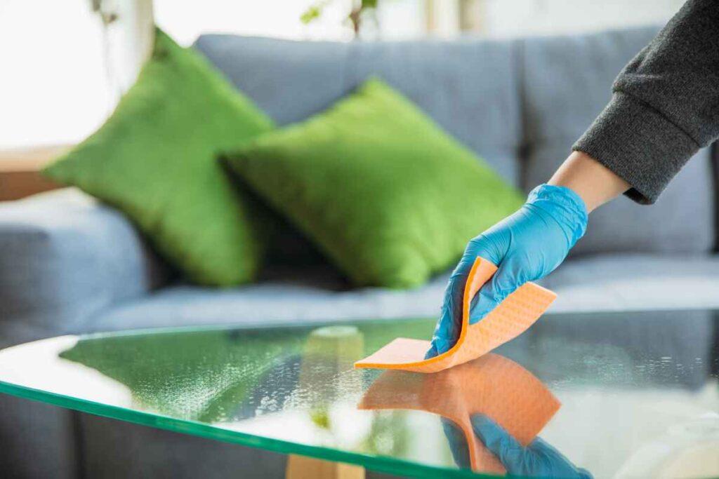 czyszczenie szklanych powierzchni